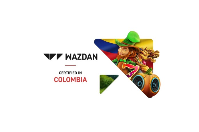 Wazdan accelerates regulated market strategy with Colombian certification