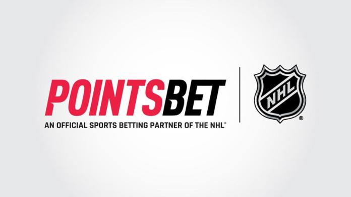 PointsBet Becomes Official Sports Betting Partner of NHL