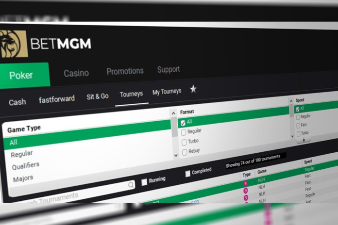 BetMGM Launches Online Poker in Michigan