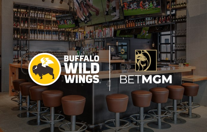 Buffalo Wild Wings and BetMGM Launch Exclusive Sports Betting Experience