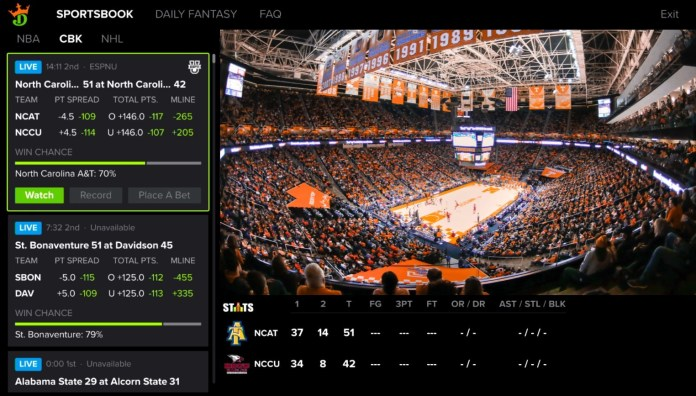 DISH and DraftKings Introduce First-of-Its-Kind App Integration