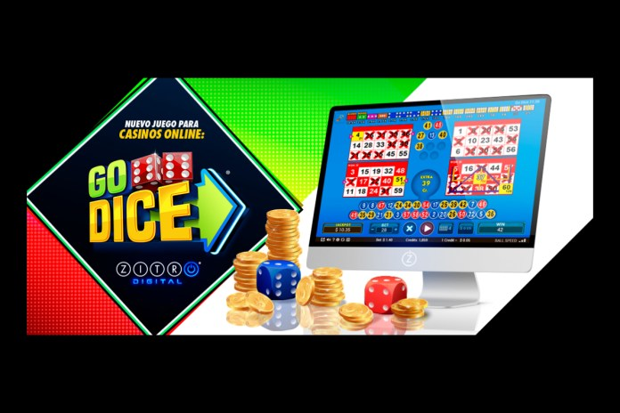 The Classic Video Bingo 'Go Dice' by Zitro, Now Available for Online