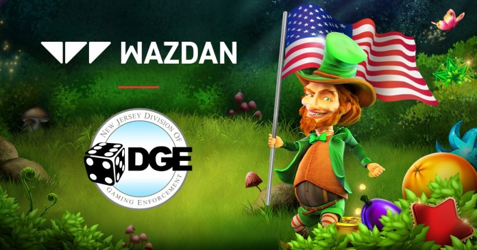 Wazdan approved to go live in New Jersey