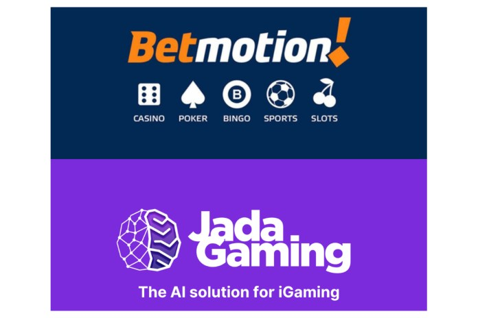 Jada Gaming partners with Betmotion to boost online offering