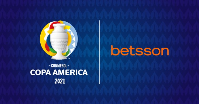 Betsson Strengthens Its Commitment to Latin American Football and Becomes Official Regional Sponsor of Conmebol Copa América 2021
