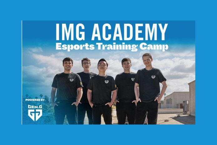 IMG Academy Announces Summer Esports Camp, Powered By Gen.G