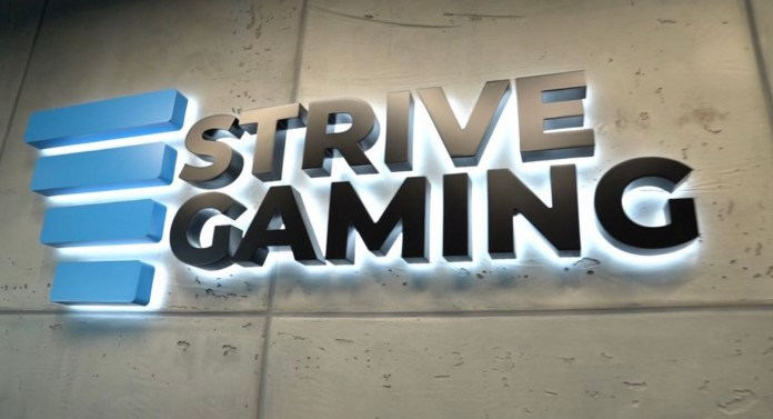 Strive Gaming achieves first state license