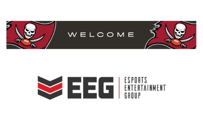 Tampa Bay Buccaneers Name Esports Entertainment Group as Its Official Esports Tournament Platform in Multi-Year Deal