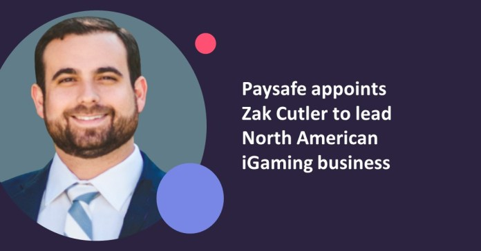 Paysafe appoints Zak Cutler to lead its North America iGaming business