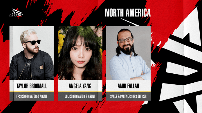 Prodigy Agency strengthens its North American team and support to players with new hires