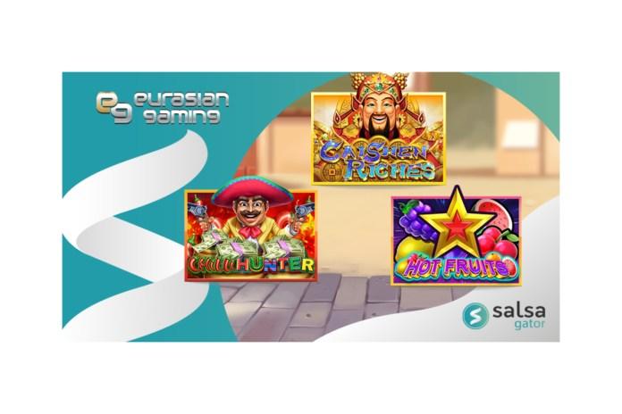 Salsa Technology launches Eurasian Gaming titles on aggregator platform