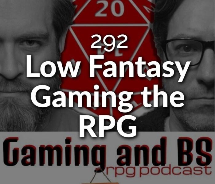 low fantasy gaming album art
