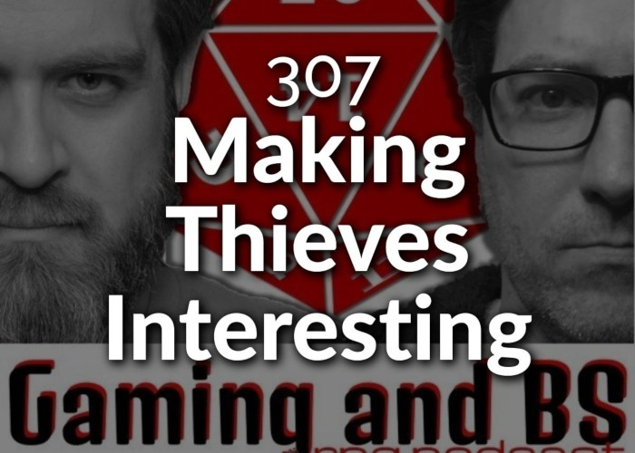 episode album art - making thieves interesting