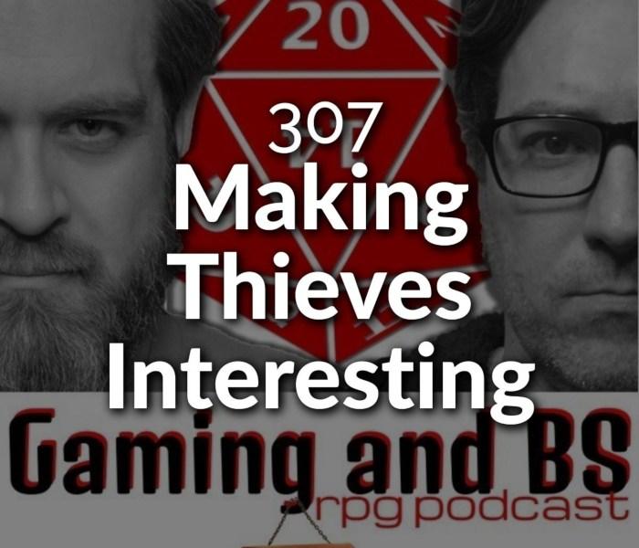 episode album art - making thieves interesting