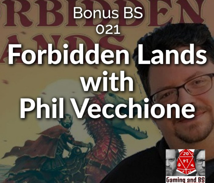 forbidden lands phil vecchione bonus bs album art