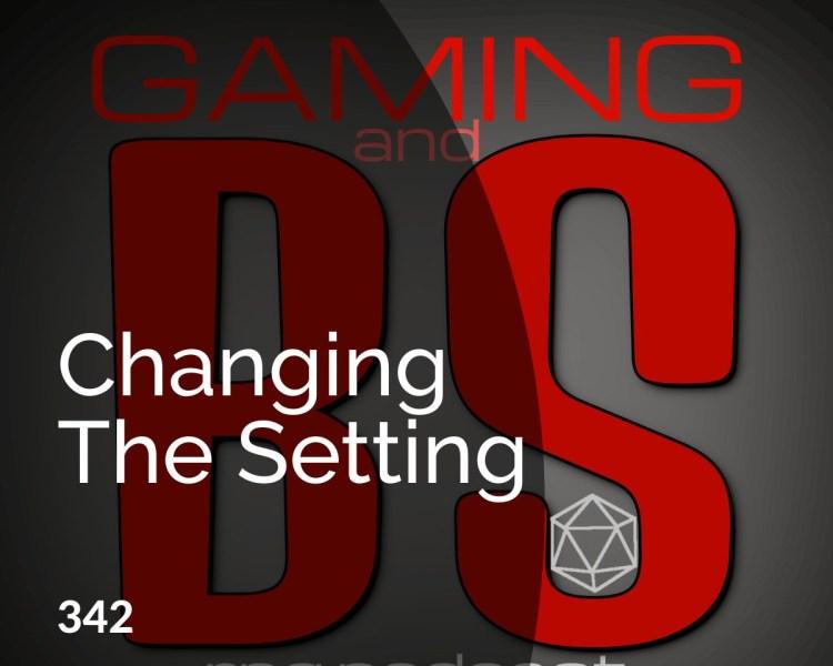 changing the rpg setting episode 342 album art