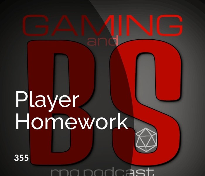 player homework rpgs album cover