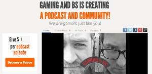 gaming and bs on patreon