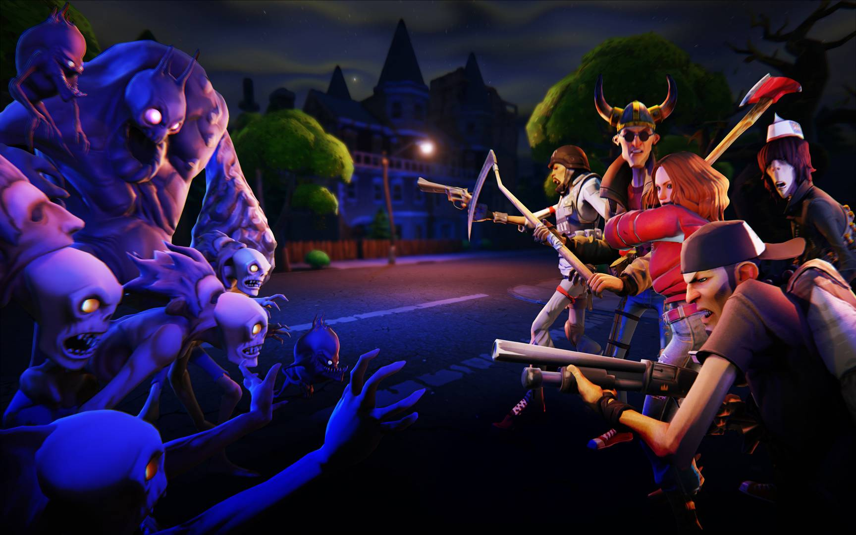 Epic Games Fortnite Wallpaper Video Game