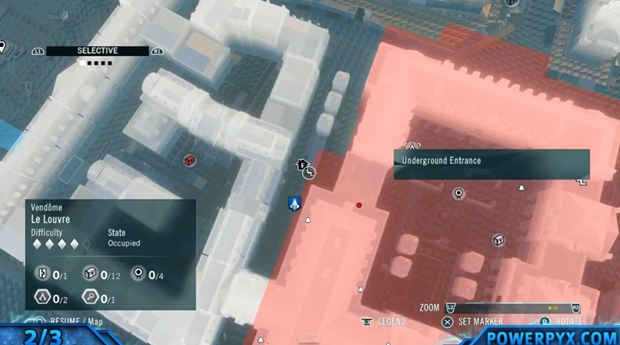 Assassin's Creed Unity Sync Point Locations 4