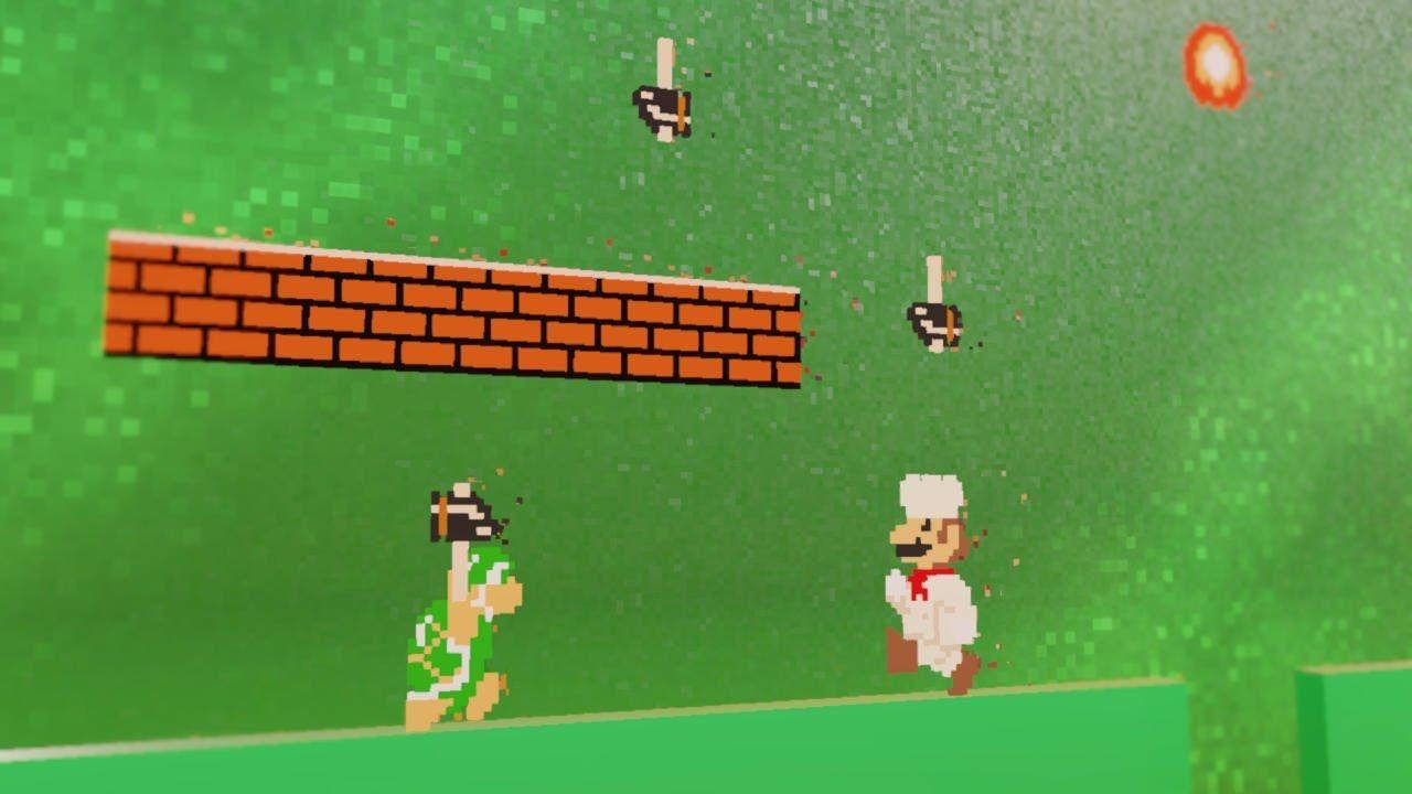 Super Mario Odyssey Gets New Screenshots Showcasing The