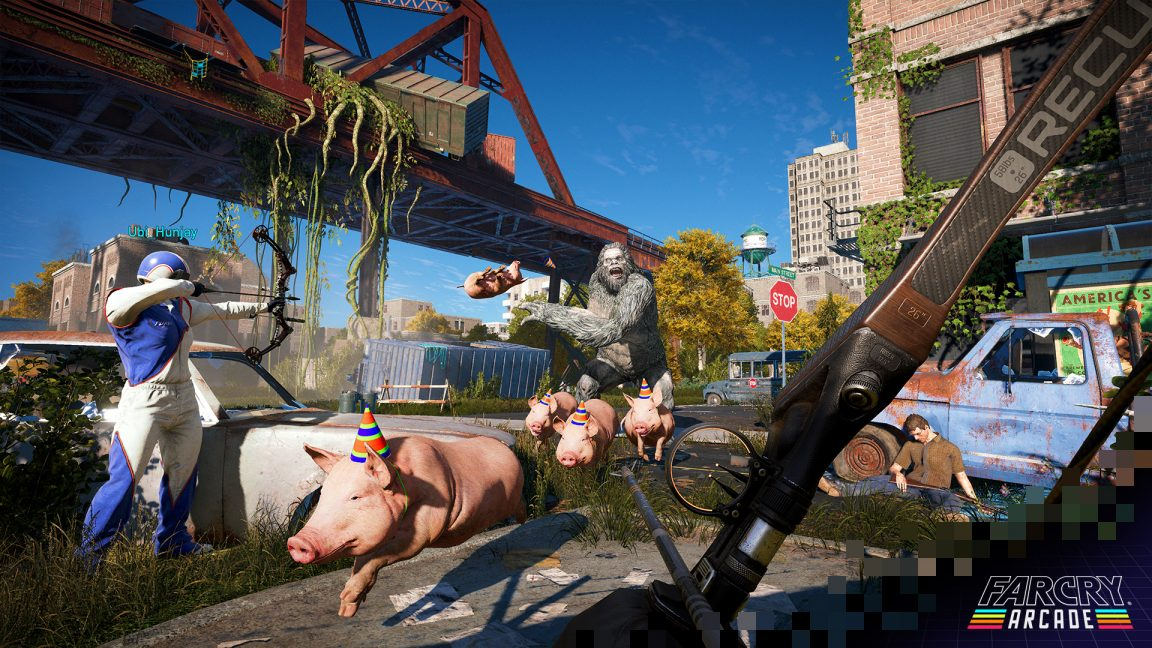 Far Cry 5 Post Launch Support Includes Free Arcade Mode