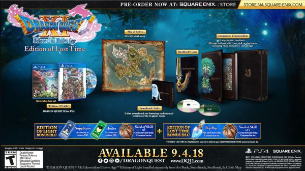 Dragon Quest 11: Echoes of An Elusive Age Receives New ...