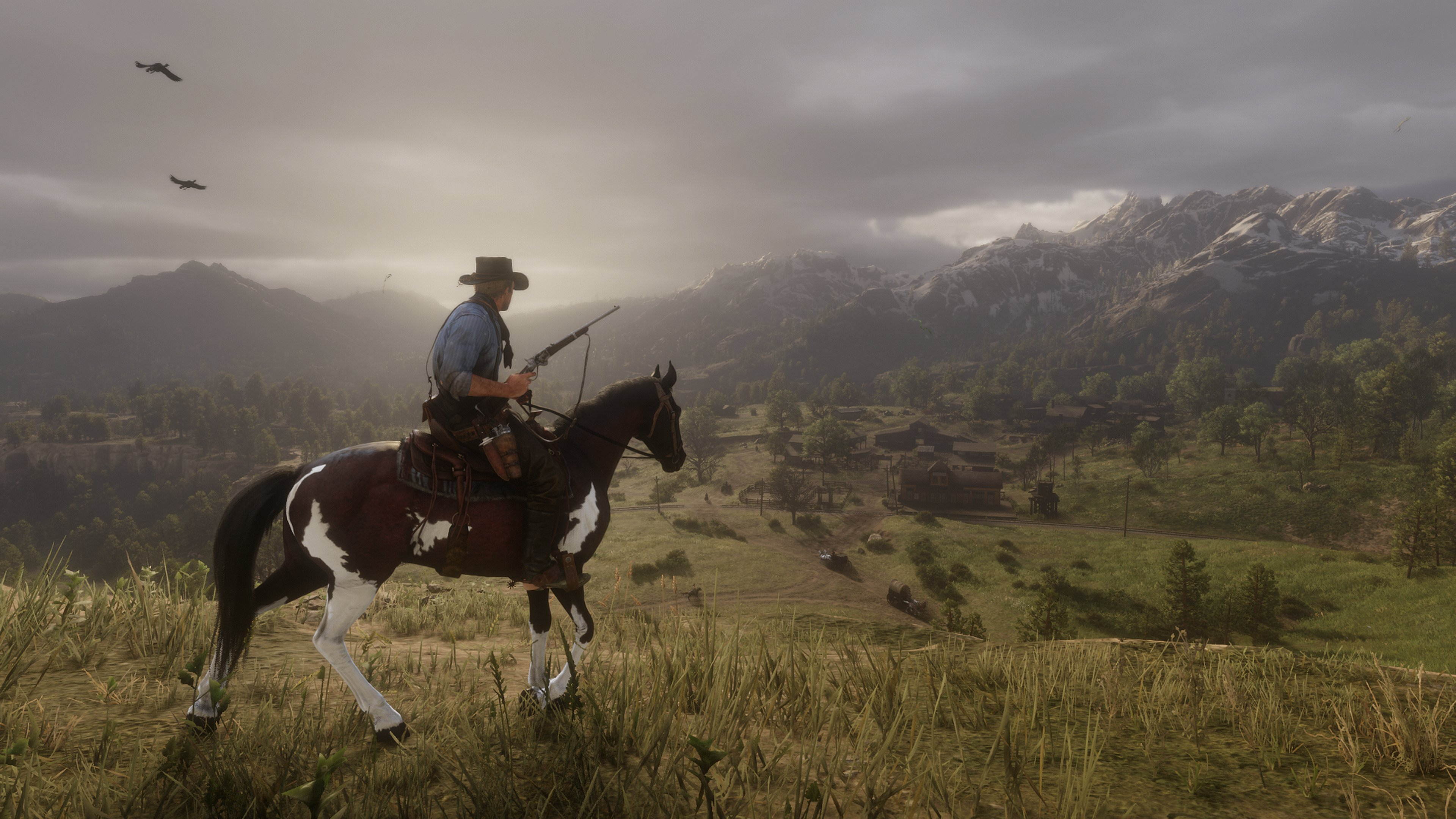 Red Dead Redemption 2 Will Run At Native 4K And Feature