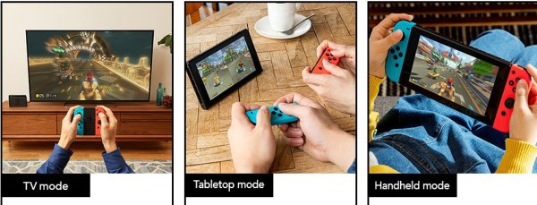 Nintendo Switch gaming modes