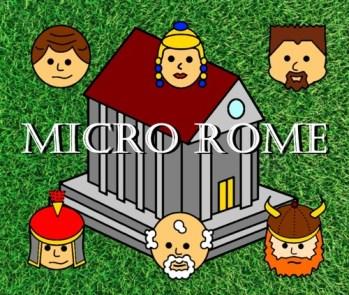 https://boardgamegeek.com/boardgame/171721/micro-rome