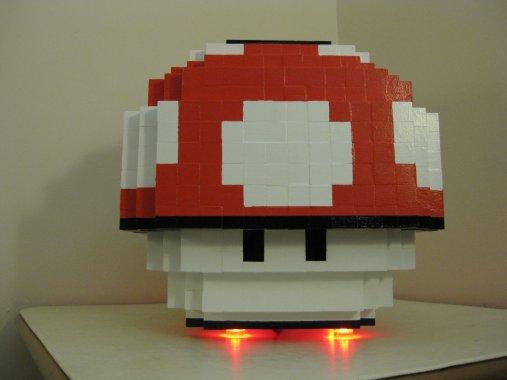 Der 8-Bit-Pilz. (Foto: Etsy)
