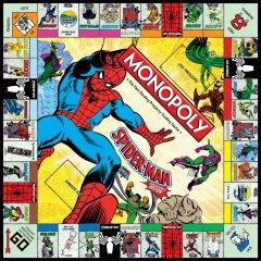 Spider-Man als Monopoly-Spiel. (Foto: USAopoly)