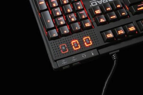 Die QPAD MK-85 MX-Blue Switch (Foto: QPAD)