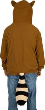 Das Waschbären-Kostüm. (Foto: 80stees.com)