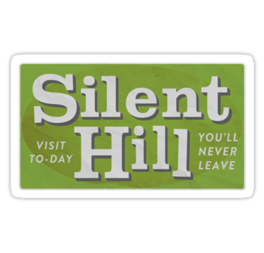 Silent Hill-Sticker. (Foto: Redbubble)