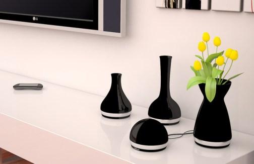 Vasen als Zubehör? WTF? (Foto: indigogo)
