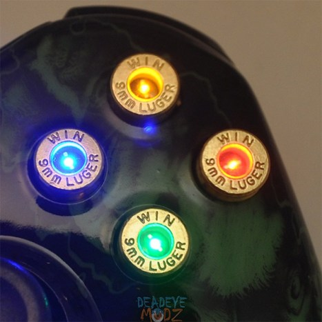Patronen und LEDs. (Foto: Etsy)
