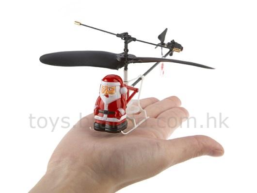Flying Santa Claus. (Foto: Brando)