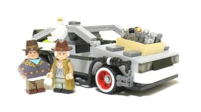 LEGO Zurück in die Zukunft (Foto: cuusoo.com)