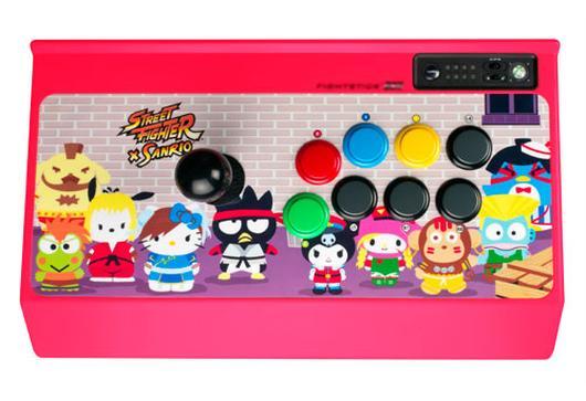 Der offizielle Street Fighter X Sanrio-Controller. (Foto: Mad Catz)