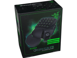 Das Orbweaver-Keypad. (Foto: Razer)