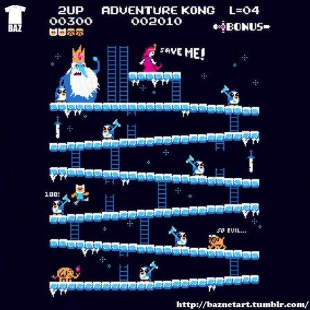 Adventure Kong. (Foto: BazNet)