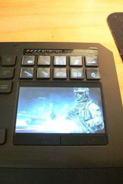 Der Switchblade Touchscreen ist ein teurer Spaß.