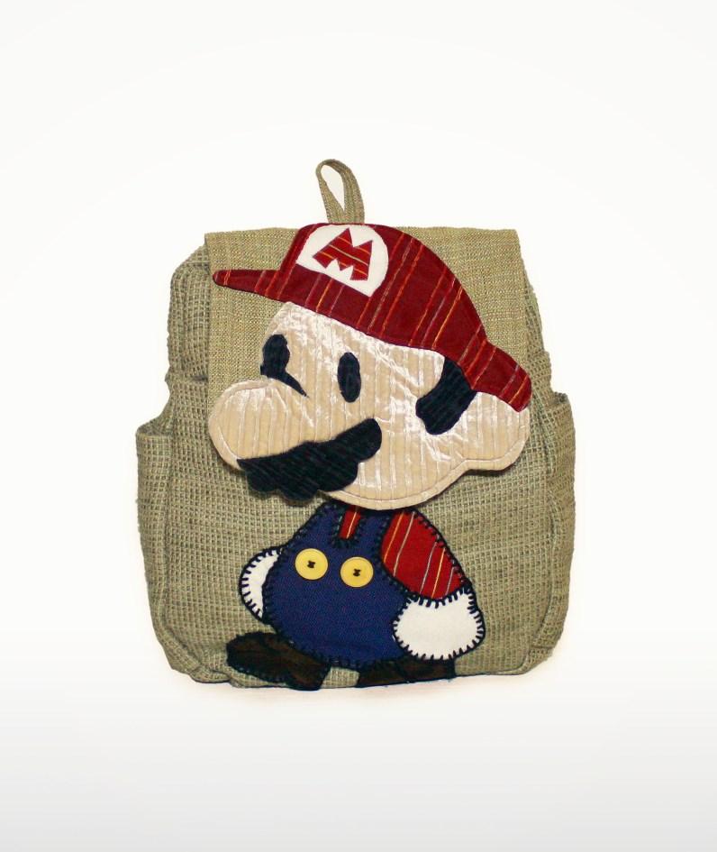Paper Mario als Rucksack. (Foto: Etsy)