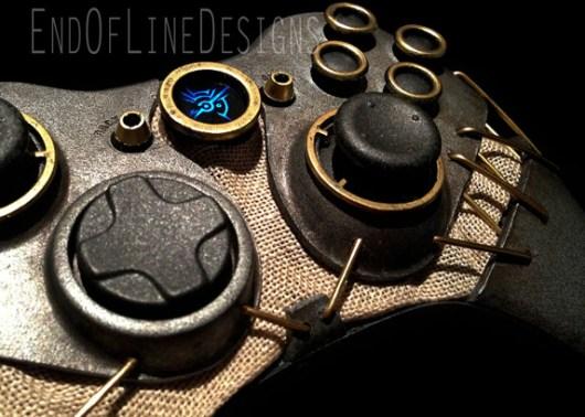Der Xbox 360-Controller im Dishonored-Design. (Foto: endoflinedesigns.com)