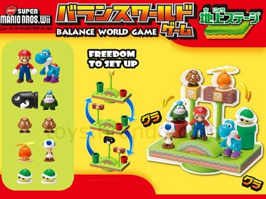 Das Balance World Game mit der Oberwelt. (Foto: Brando)