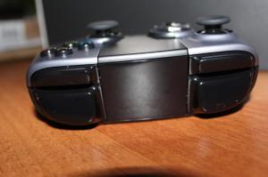 Ouya besitzt vier Schultertasten - wie das PS3-Gamepad. (Foto: GamingGadgets.de)