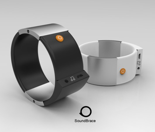 Die klangvollen Armbänder (Foto: Yanko Design)