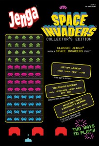 Jenga Space Invaders. (Foto: USAOpoly)