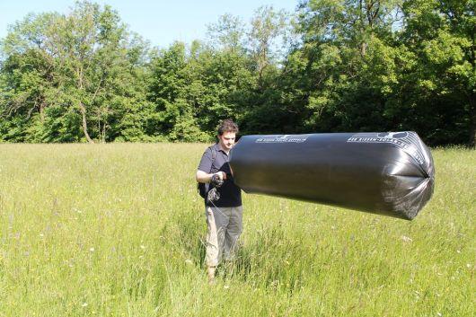 Unser Test mit dem Solar-Zeppelin